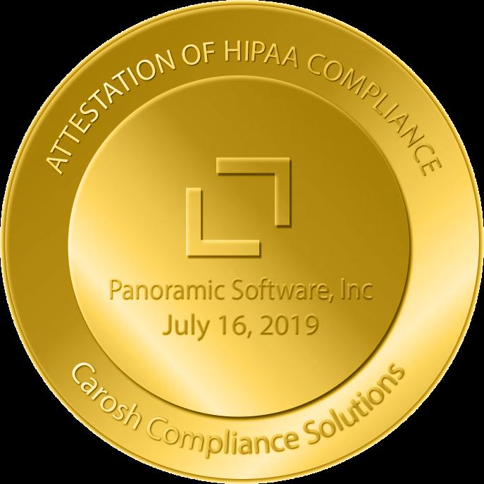 Panosoft HIPPA Compliance